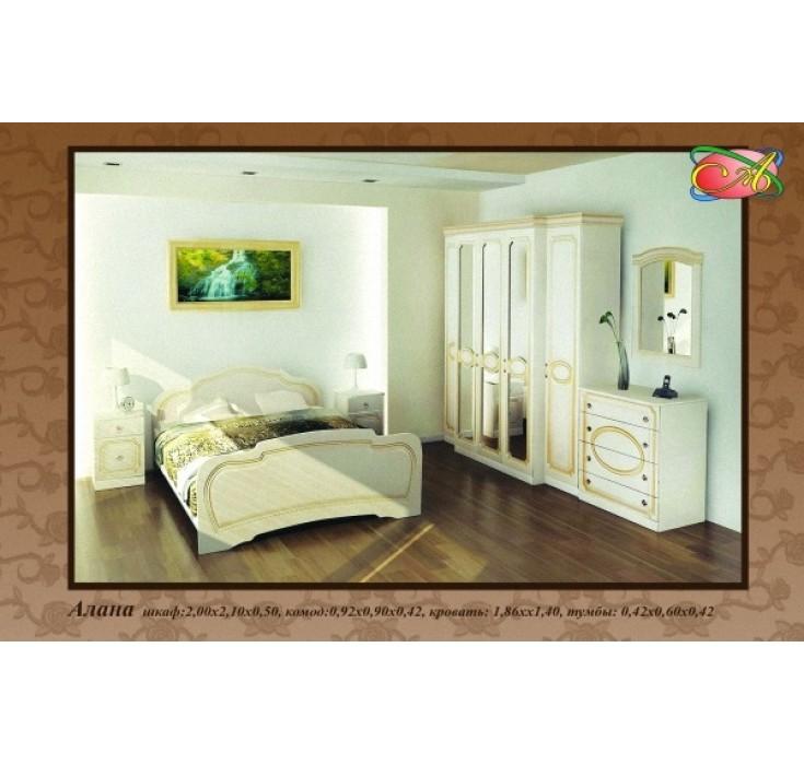 Спальный гарнитур Алана