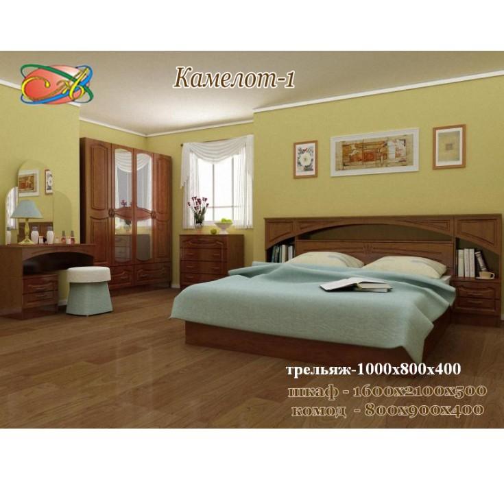 Спальный гарнитур Камелот-1